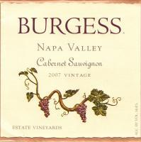 Burgess CS Library 2007 Label