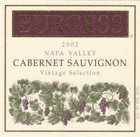 Burgess CS Library 2002 Label