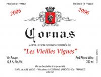 Alain Voge Cornas VV 06 Label