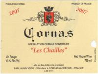 Cornas Les Chailles Label