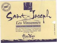 St Joseph Label