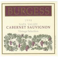 Burgess CS Library 1998 Label