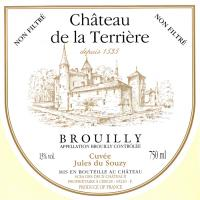 Brouilly VV Label