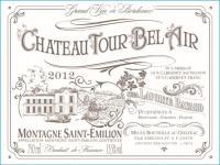 Chateau Tour Bel Air Front Label