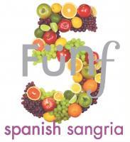 New Funf Spanish Sangria Label