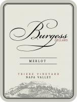 New NV Burgess Merlot Label