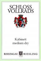 New Schloss Vollrads Kabinett Medium Dry Label