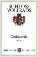 New Schloss Vollrads QbA Dry Label