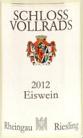 SV Eiswein 2012 Label